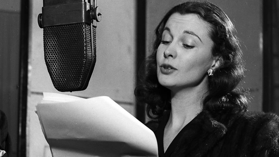 Vivien Leigh on the Radio