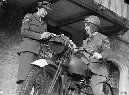 WAAC Motorcycle