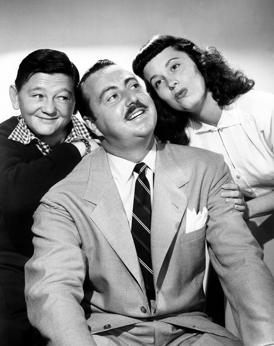 Willard Waterman later appeared at the Great Gildersleeve