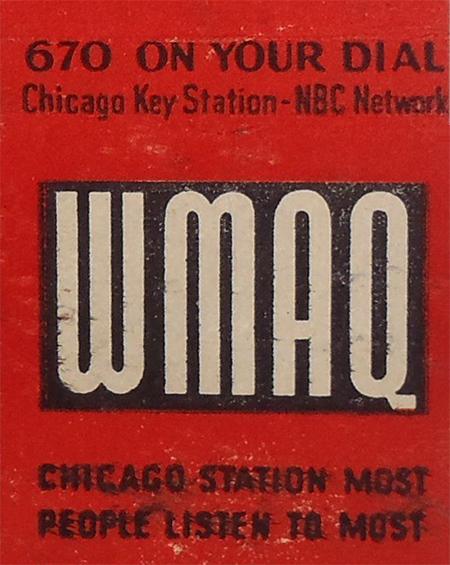 WMAQ Matchbook
