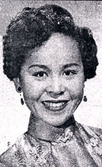 Barbara Jean Wong in 1954