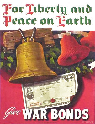 WWII Christmas War Bonds