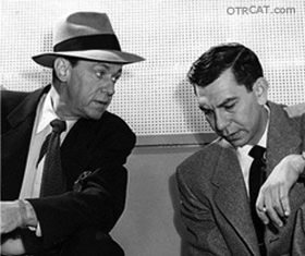 Jack Webb and Barton Yarborough