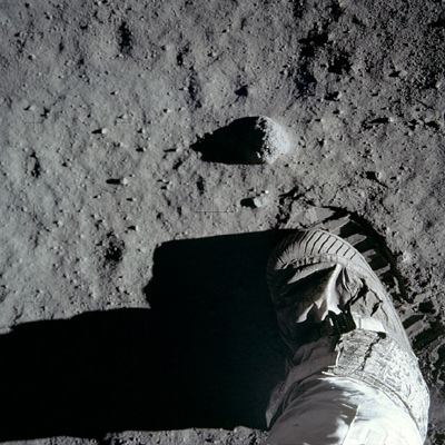 First steps on the Moon July 1969