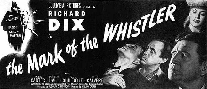 The Whistler Movie Poster
