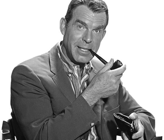 Fred MacMurray pipe