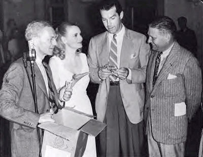 Parks Johnson Marie Wilson, Fred MacMurray, Wally Butterworth
